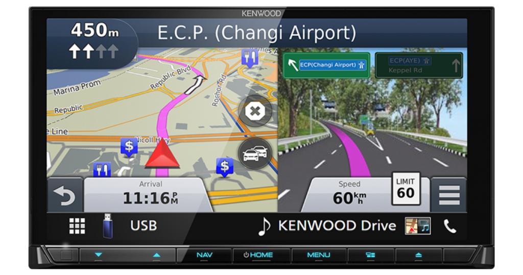 Best car radio with Inbuilt Navigation, Kenwood DNX9190SM