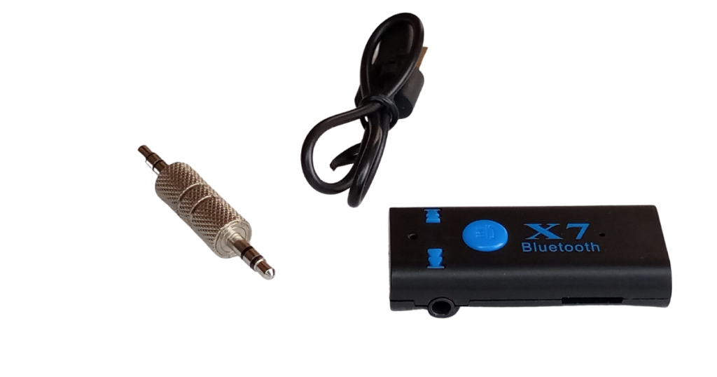 Use X7 to add Bluetooth to you car. X7 Bluetooth Receiver has a micro SD card slot