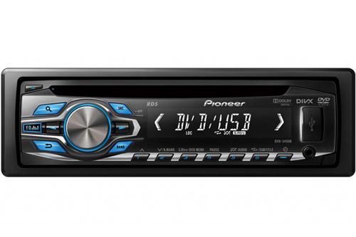 Pioneer DVH-345UB Car Radio with Fm & DVD player
