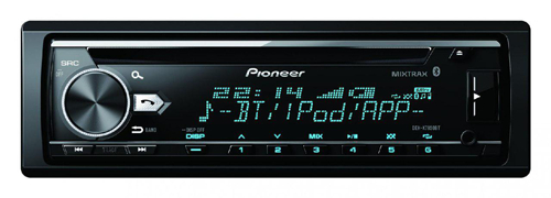 Pioneer DEH-X7850BT In Dash Car Radio with Bluetooth
