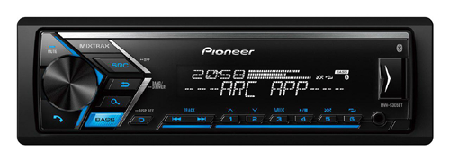 Pioneer MVH-S305BT Car Stereo with Bluetooth hands free Calling