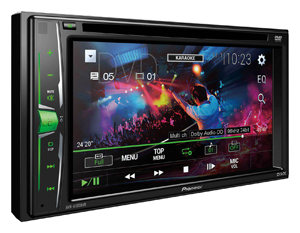 Pioneer AVH-A105DVD Car Radio DVD player