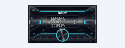 Sony WX-810UI Double din Car Radio.