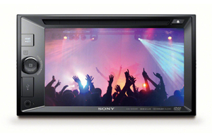 SONY XAV-W651BT Car Stereo front USB