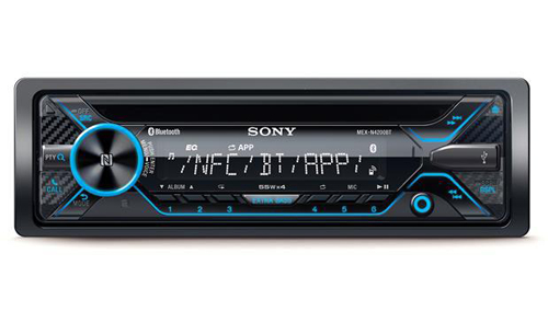 Sony MEX-N4300BT one Din Car Stereo.