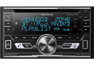 Kenwood DPX-5100BT In dash Car Stereo with Bluetooth.