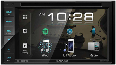 KENWOOD DDX419BT CAR RADIO WITH DUAL CAMERA INPUT