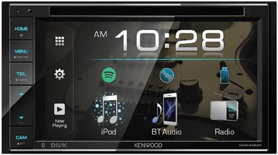 Kenwood DDX419BT Car radio with dual camera input.
