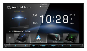 KENWOOD DDX9019SM Car Android Radio with 3 camera inputs