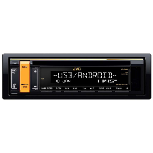 JVC KD-R498 Car Radio receiver