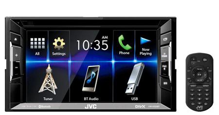 JVC KW-V230BTM Car Stereo with spotify & Reverse camera input.