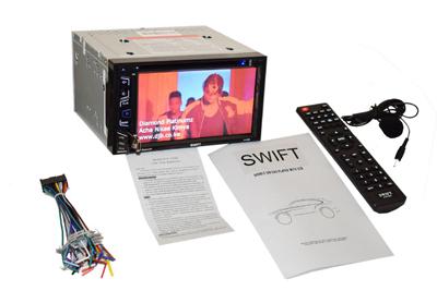 Swift AV501 DVD Bluetooth car radio.