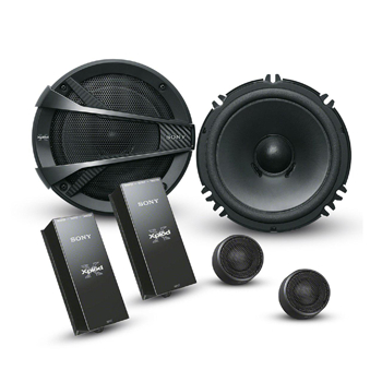 Sony XS-XB1621C Component speakers.