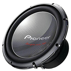 Pioneer TS-W3003D4 Double coil powerful bass speaker.