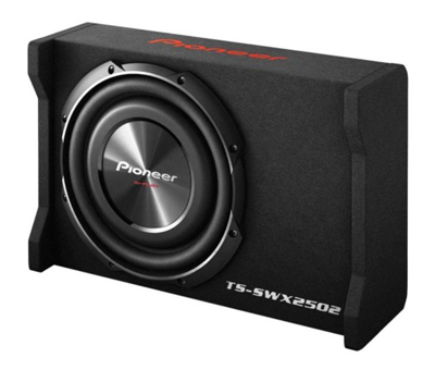 Pioneer TS-SWX2502 Enclosed subwoofer.