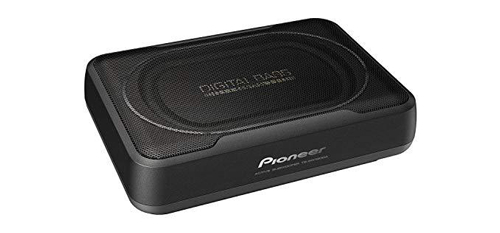Pioneer car under seat subwoofer TS-WX130DA.