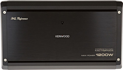 KENWOOD KAC-HQR1004 4 Channel Car Amplifier
