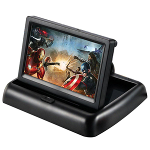 5 inch foldable car LCD dashboard monitor.