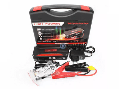 Car jump starter & air compressor.