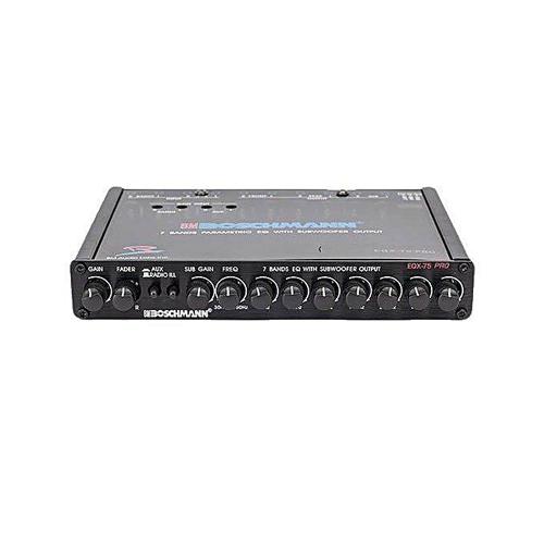 BOSCHMANN Equilizer EQX-75 PRO Audio Equilizer