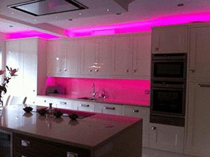 Pink Decorative Lights 5 Metre Set LED Strip