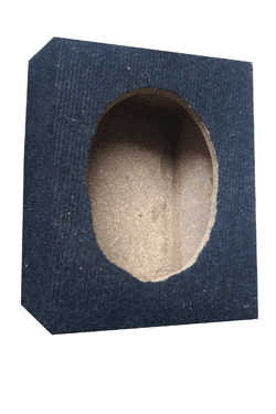 6*9 inch speaker cabinet - sealed enclosure.