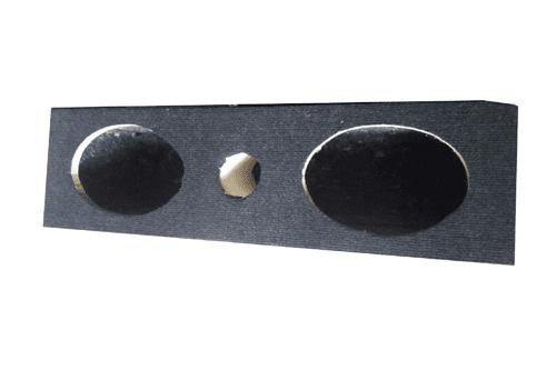 Double 6*9 inch speaker cabinet.