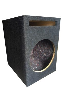 12 inch speaker slot bass box.