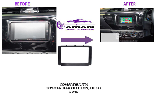 Fascia console frame for Toyota Revo  Hilux 2015+