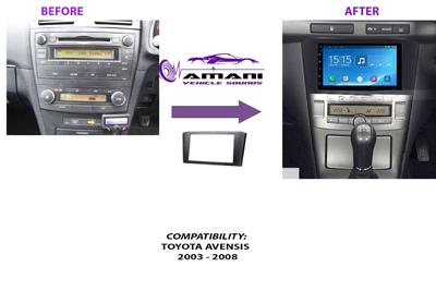 Fascia Panel for Toyota Avensis 2003