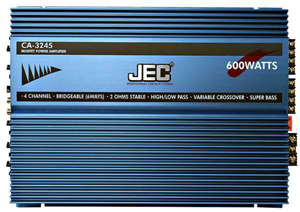 JEC CA-3245 4 CHANNEL AMPLIFIER