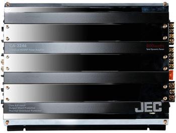 JEC CA-3246 4 Channel Car Amplifier.