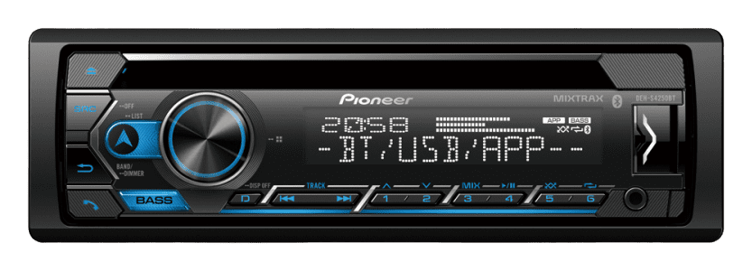 PIONEER DEH-S4250BT Car Radio With Bluetooth