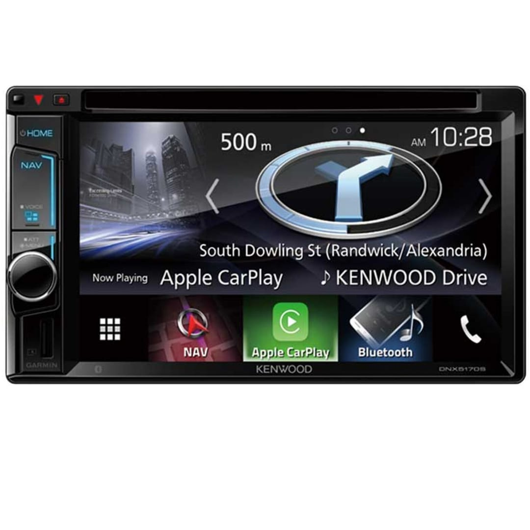 Kenwood DNX5170SM Car Stereo with Navigation.