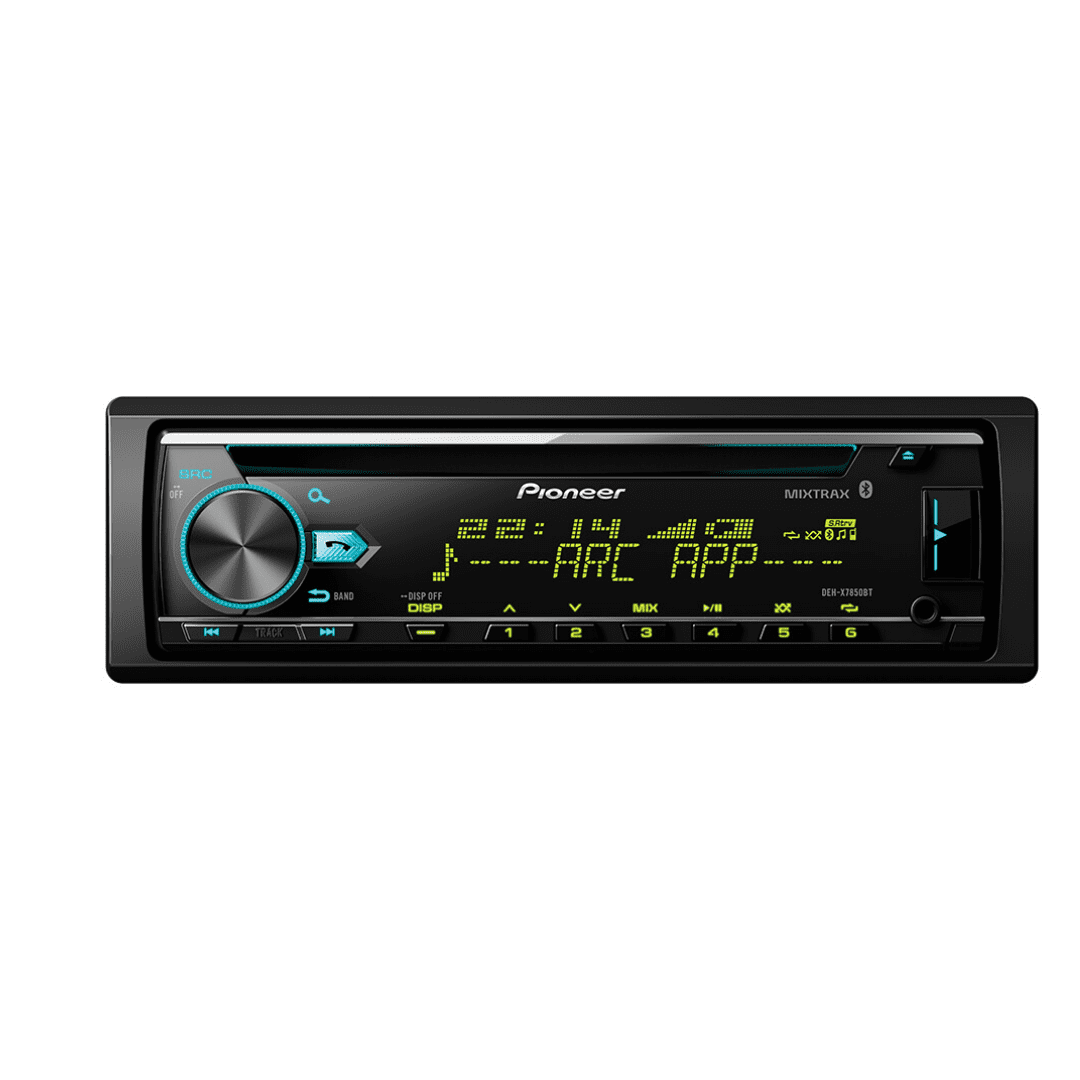 Pioneer DEH-X7850BT In Dash Car Radio with Bluetooth.