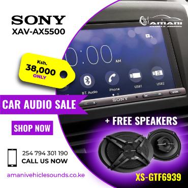 Sony XAV-AX5500 Car Stereo