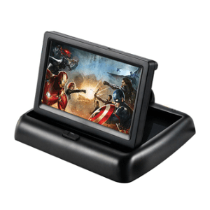 5 Inch Foldable Car LCD Dashboard mon