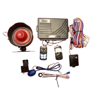 Afritec Car Alarm with Antihijack
