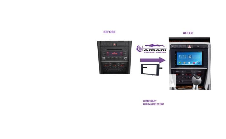 AUDI A3 Car Radio Fascia Kit Frame
