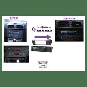 BMW X3 E83 2004-2010 radio Fitting
