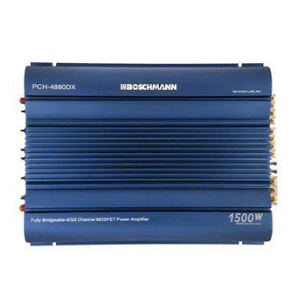 BOSCHMANN Bridgeable Car Amplifier