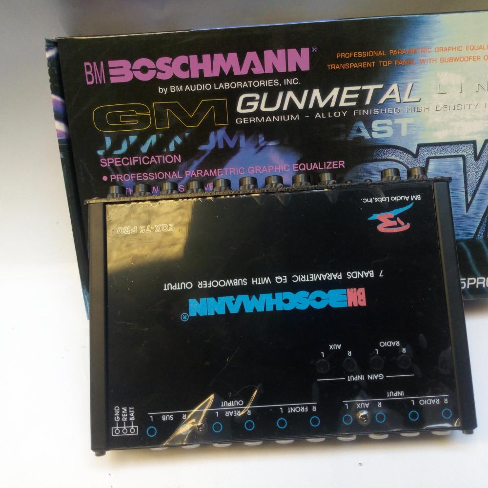 Boschmann Equalizer EQX75 PRO