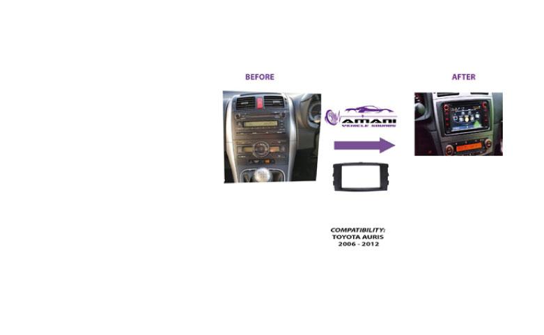 Radio Trim for Toyota Auris 2006-2012