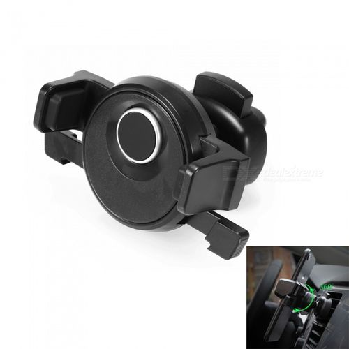 Classy car phone holder, Air vent mount - Black