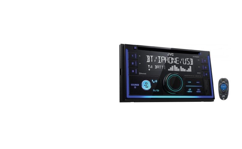 JVC  Car Radio with Bluetooth