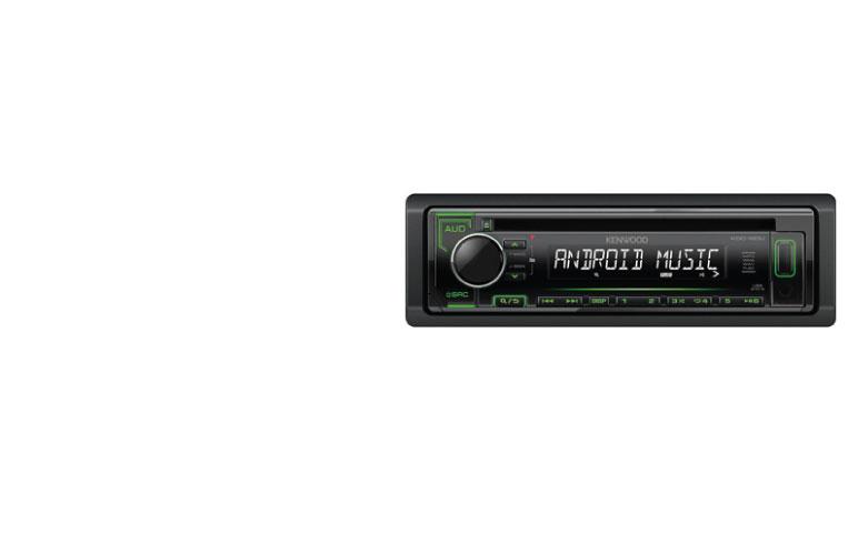 Kenwood KDC-120U Car Radio receiver