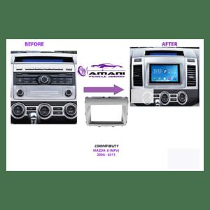 Mazda 8 Year 2006+Radio fitting panel