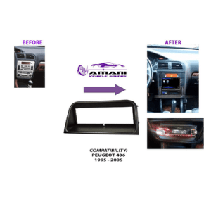 Peugeot 406 Car Radio Fascia trim kit