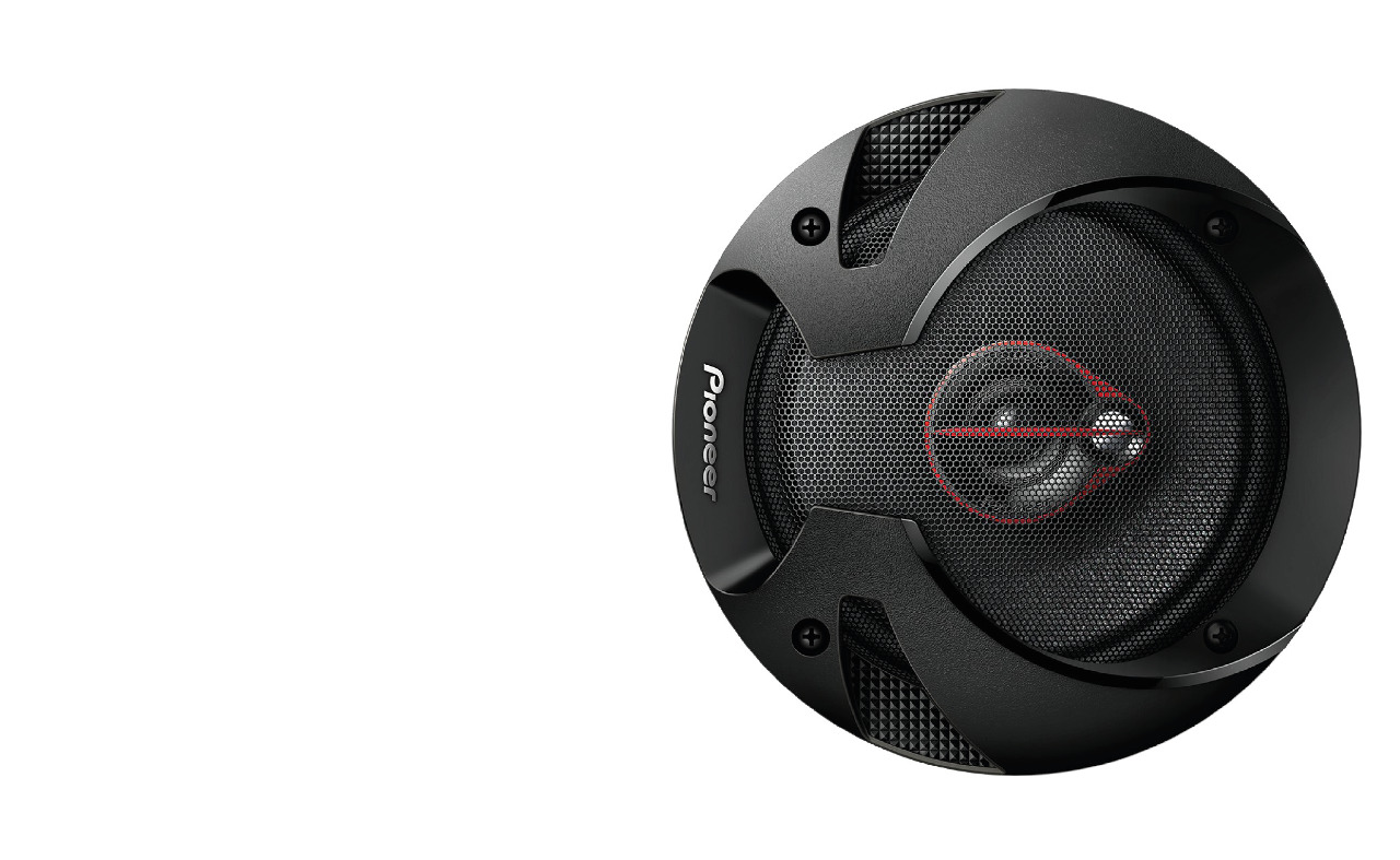 Pioneer Ts-r1651s Door Speakers