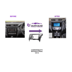 Radio Panel for 2014+ Nissan Xtrail